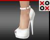 White Fashion Heels