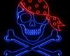 Bandana Neon Pirate
