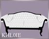 K bw wedding couch