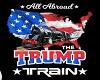 Trump Train sign 2