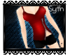 * Zipped Outfit - Red