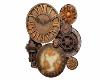 >Steampunk Clock<