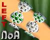 FlowerBracelet/Green(L)