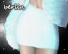 [B] White, Sweater Skirt