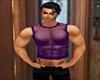 Purple Muscle Top