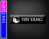 (Nat) Yin Yang Style Tag