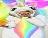 Rainbow Unicorn Kids Child Girl Girls Pink