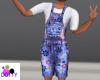 flower child overalls