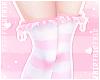 F. Ruffle Socks Pinku S