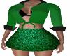 Janeva Green Skirt Fit