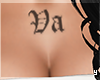 Azyia Custom Chest Tatt