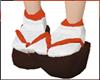 Sakura kimono shoes