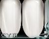 Cym R. White Nails
