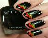 Zoya Chrismas Nails