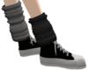 leg warmers G/B