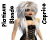 Platinum Blonde Caprice