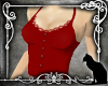 *SK* Button Cami Red