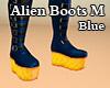 Alien Boots M Blue
