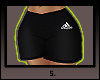 s. Baes gymshorts, RLL.