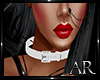 AR* Belt Choker White De
