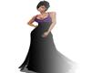 -BratZ Black/Purple Gown