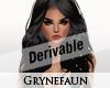 Derivable long hair 18