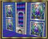 Purple Stained GlassApt