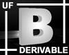 UF Derivable Letter B