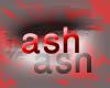 (ash)black wedding hair