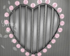 Easter Heart Pink Lamp