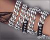 Silver Chain Wrist