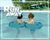 [123] COUPLE SWIM RING