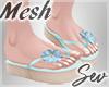 *S Summer Flip Flops