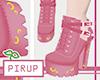 |Pi| Moon Pink Boots