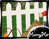 White Picket Fence Decor