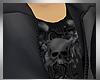 MM Dark Gray Skull Jacke