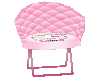 40% pink kitty chair