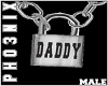 !PX DADDY LOCK NECKLACE