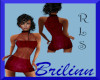 [B] Maroon Dress RLS
