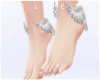 J! Bare feet + wings