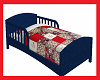 cardnial toddler bed