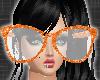 *Orange Big Glass