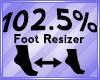 Foot Scaler 102.5%