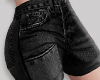 y. Black Jeans Short