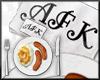 AFK food v2 Headsign