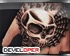 :D Skull Hands Tattoo