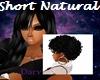 Short Natural- Black