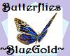 Butterflies~BluGold~