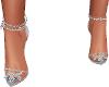 Silver Blue Sexy,Heels