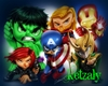 *K* MARVEL HEROES ROOM